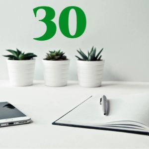 30 lezioni individuali