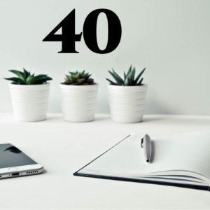 40 lezioni individuali